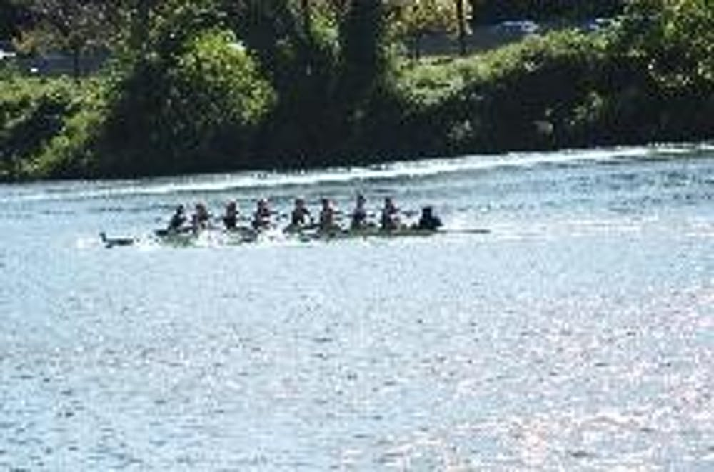 Women S Crew Rows Against Rutgers And Cornell On The Schuylkill Mike Lane Is Entering His First Year Coaching Team After Predecessor Was Fired