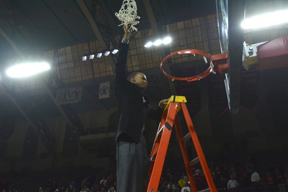 Even without a postseason tournament, the Ivy League still allows for powerful moments to end the season, such as Harvard coach Tommy Amaker cutting the nets after a one-game playoff last year.