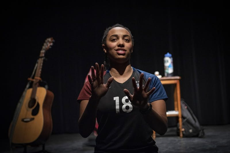 Stephanie Everett '19 looks forward to performing for local theaters.