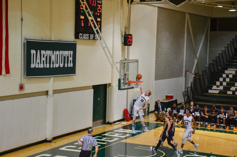 Dartmouth men's basketball played at home against Canisius Tuesday night