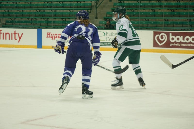 The women's ice hockey team looks to rebound from a 7-21 campaign which was one of its worst seasons in recent memory.