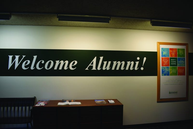 If they haven't already, members of the Class of 2018 may soon become very familiar with the Blunt Alumni Center.