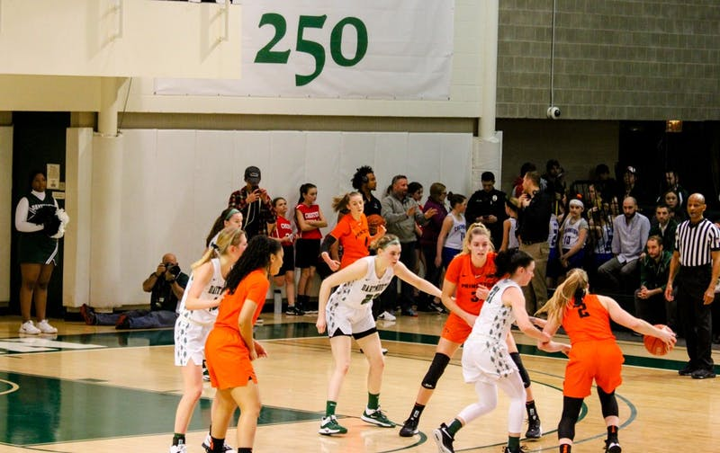 Women's basketball lost to Princeton on Friday night, 66-34.