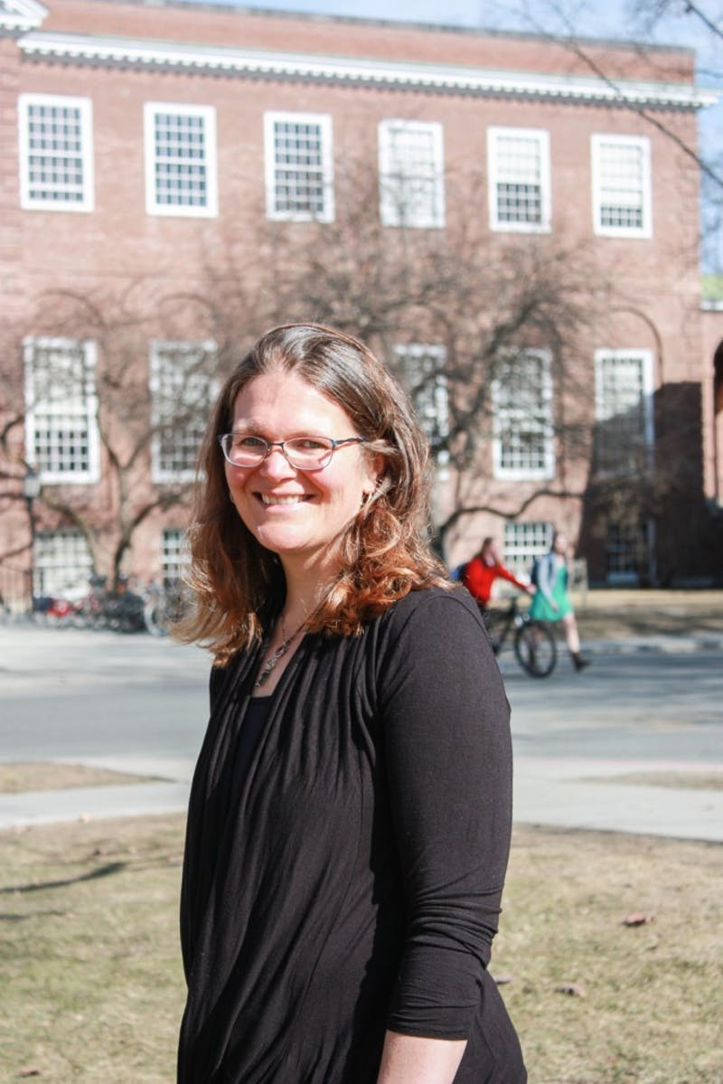 Sociology professor Katheryn Lively discussed the distinction between polyamory and shared hookups.