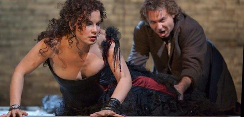 The Metropolitan Opera's Carmen is simulcast live at Loew Auditorium.