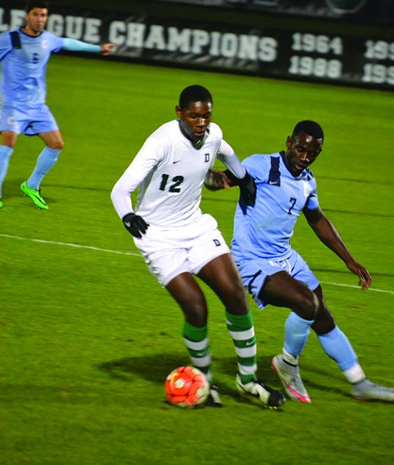 Before coming to Dartmouth, Eduvie Ikoba '19 played soccer in three different states, honing his skills with several different clubs and coaches.