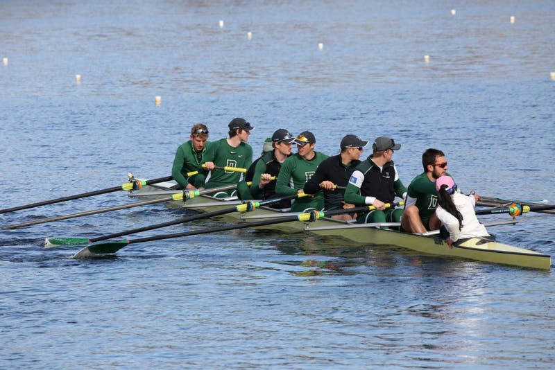 The heavyweight rowing team fell just short in the Bill Cup at Boston University this weekend.