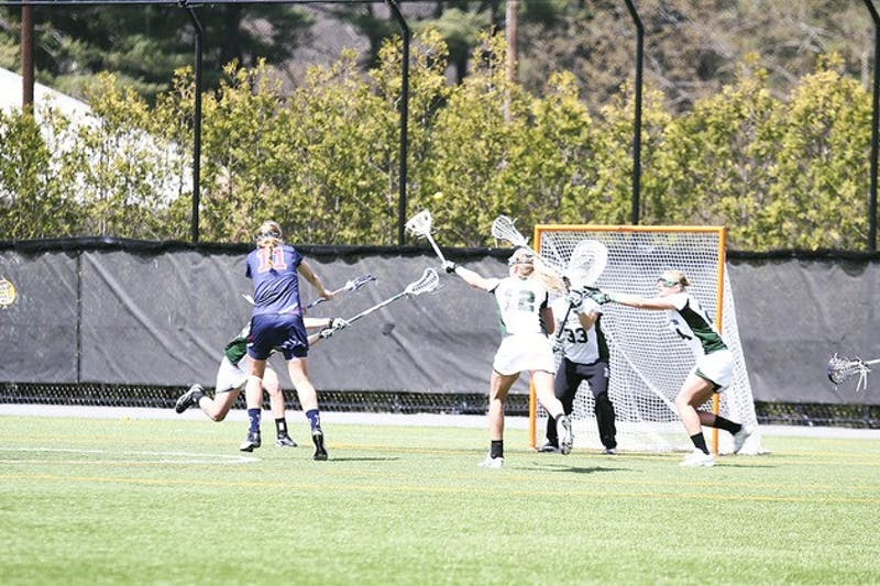 The women's lacrosse team's season came to a close after a 15-5 loss to Syracuse University on Sunday.