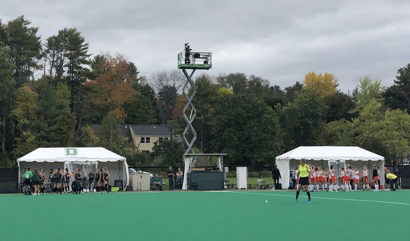 Dartmouth did not find the back of the net during Saturday's 6-0 loss to No. 18 Princeton University.