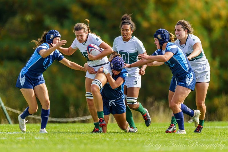 Alex Conway '20 will attend the Geisel School of Medicine next year, but she will not be permitted to play for women's rugby as a graduate student.