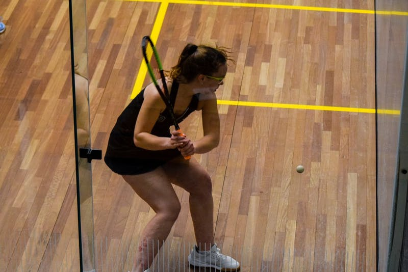 The squash teams lost at home to Yale on Friday but both earned victories against Brown on Sunday.