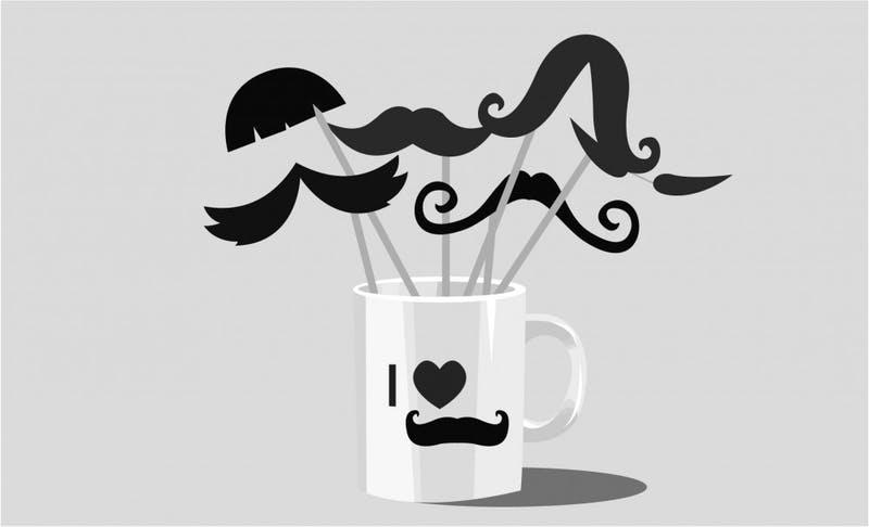 The main questions in Movember: how much money can you raise and how much hair can you grow?