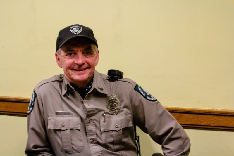 Willey has been a Safety and Security officer for over 20 years.