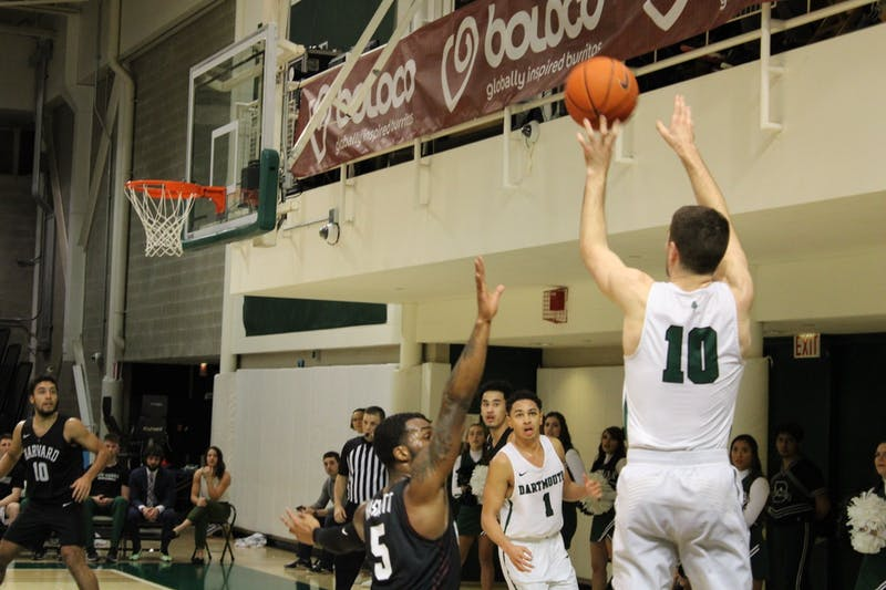 James Foye '20 scored 17 points in Dartmouth's 75-53 win over Cornell on Saturday.