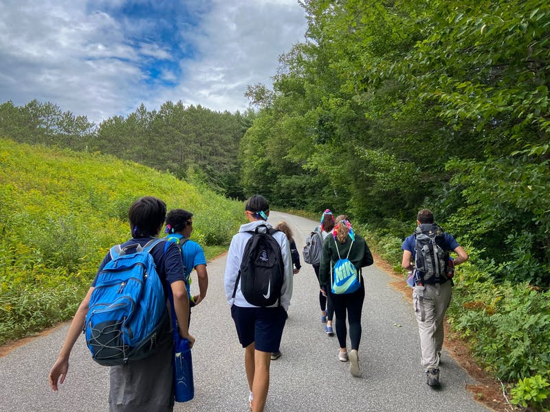 At least 90% of the Class of 2025 participated in First-Year Trips.