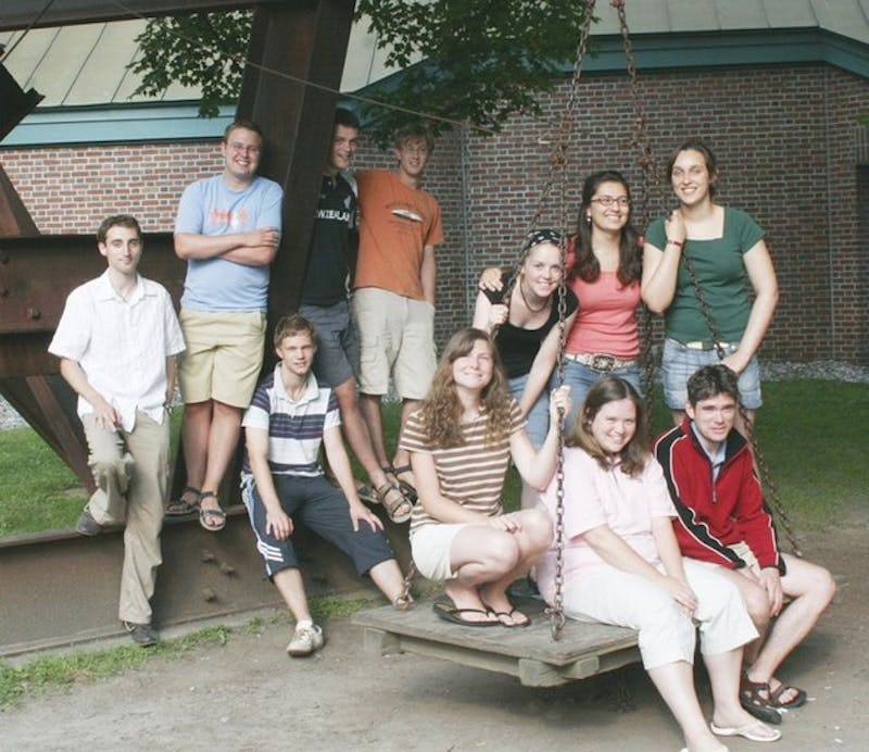 Guests of Dartmouth's Christian Impact Group, the Birmingham, England-based Agap Student Ministry will soon finish its brief visit to Hanover.