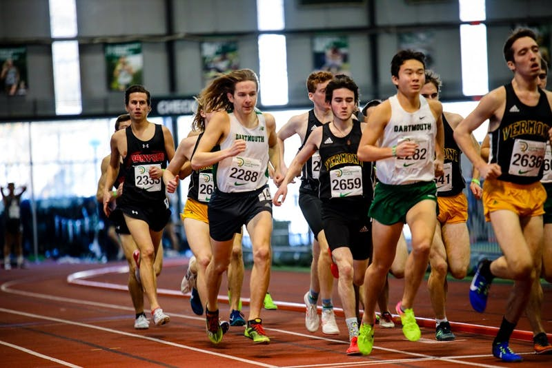 The men's and women's track and field teams participated in the Ivy League Heptagonal Indoor Track and Field Championships this weekend.