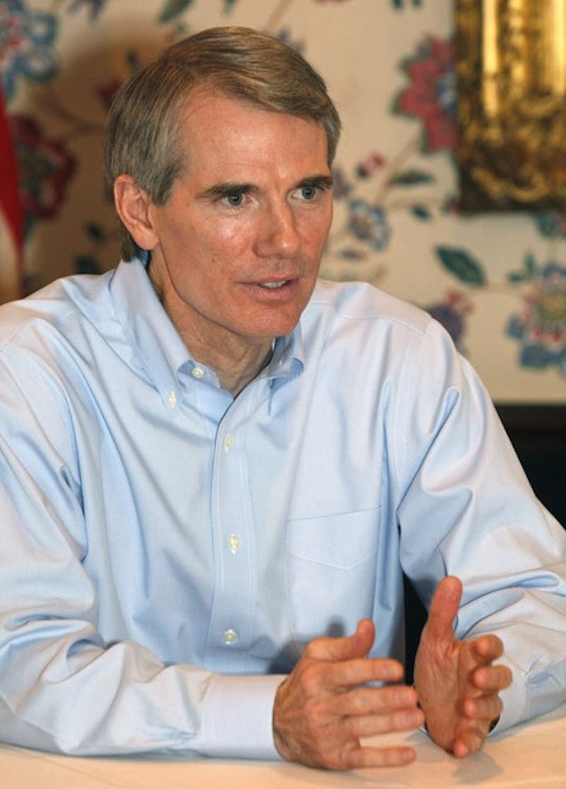 Former congressman Rob Portman '78, who served under both Bush administrations, is now on the short list of Republican vice presidential candidates.