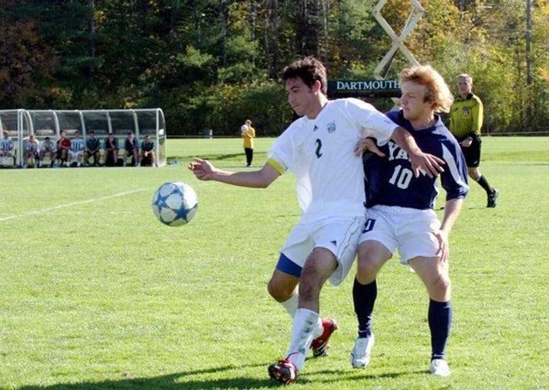 Men's soccer won an overtime nailbiter against Yale that kept the Big Green in the Ivy League title hunt.