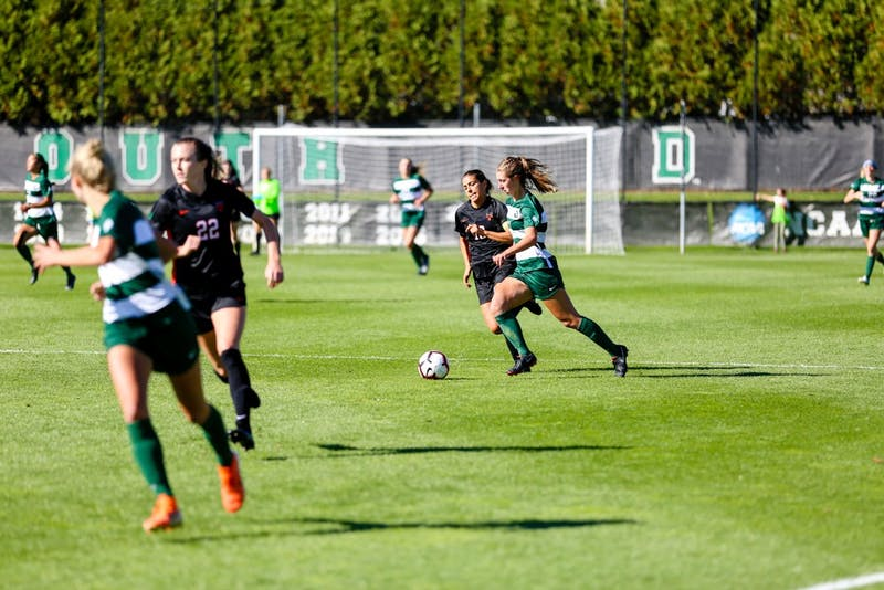 The women's soccer team played a close match with Princeton on Saturday but lost 1-0 in overtime.