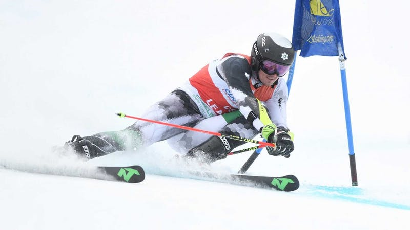 Drew Duffy '21, who has skied for the U.S. national team, won four of his first six races in his debut season for Dartmouth. Gil Talbot/Courtesy of the Dartmouth Athletics Department