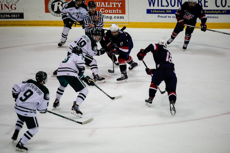 The Big Green suffered difficult losses on the road to conference opponents RPI and Union.