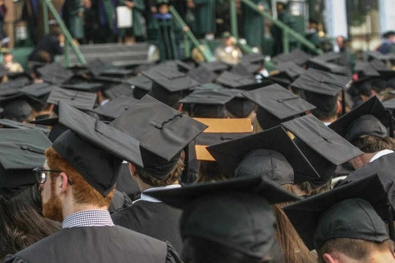 Commencement this year will take place on Memorial Field instead of on the Green.