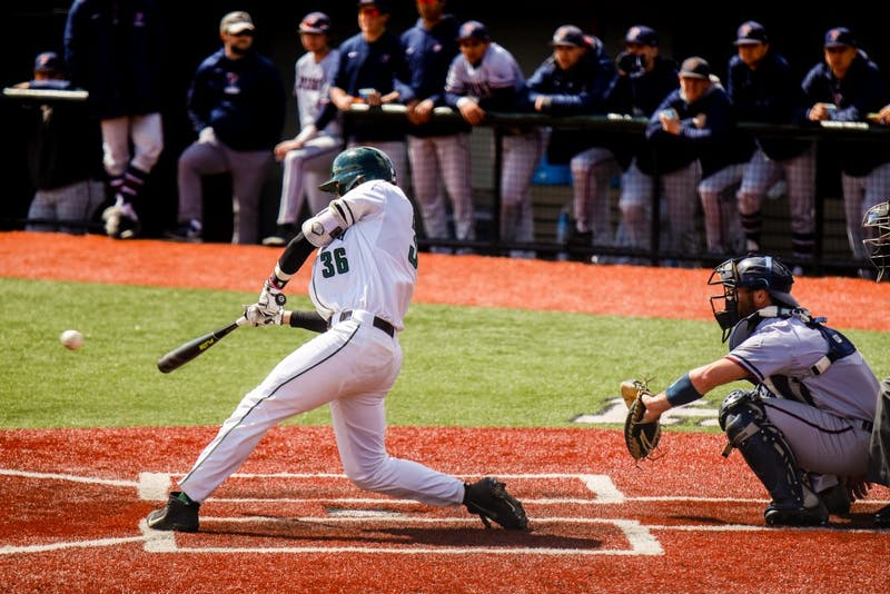 In an up-and-down, 21-inning game against Penn on Saturday, the Big Green ultimately fell 21-15.