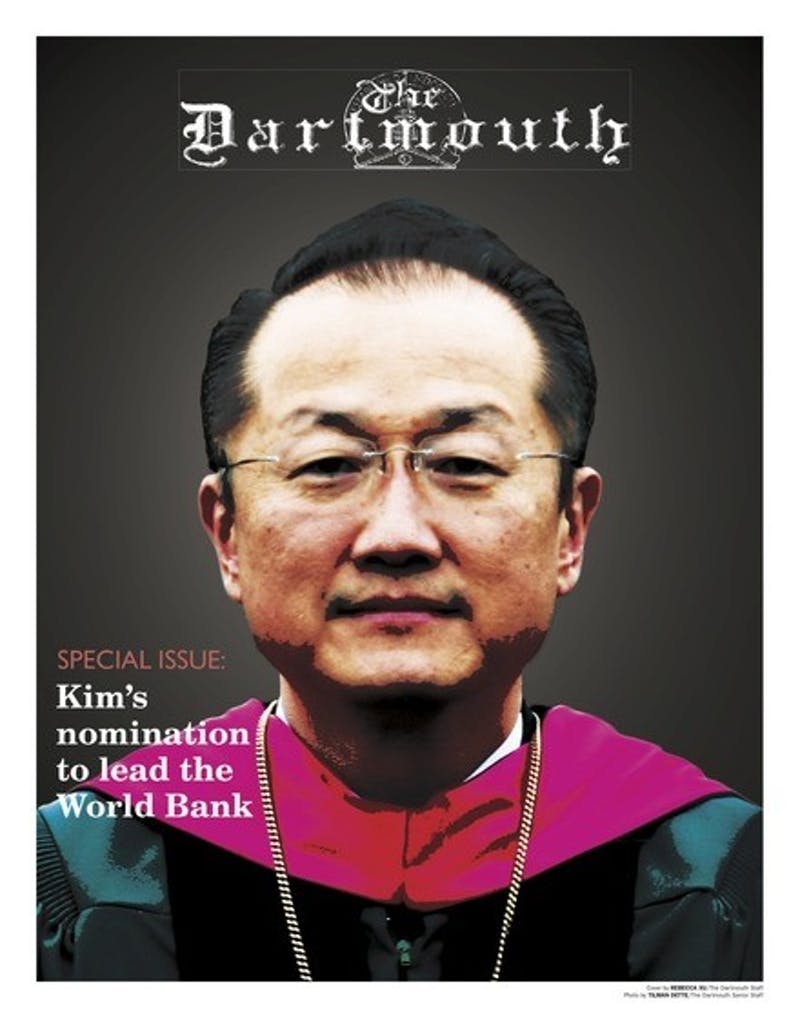 This article appeared in a special issue of The Dartmouth examining College President Jim Yong Kim's nomination to head the World Bank.