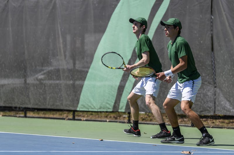 Broom and Horneffer have played together at No. 1 doubles since their sophomore year, peaking at No. 7 nationally