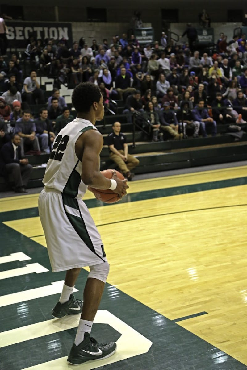 Miles Wright '18 has emerged as one of Dartmouth's strongest offensive threats.