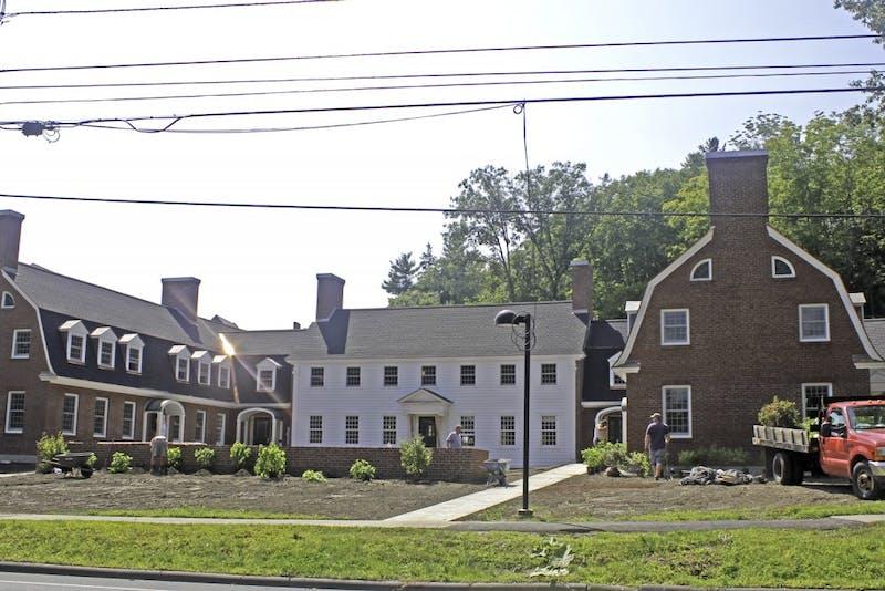 The Triangle House neighbors Alpha Phi sorority.