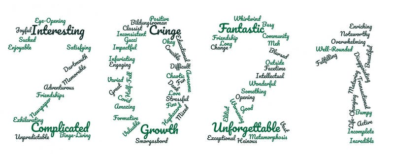 The Dartmouth asked members of the Class of 2021 to describe their Dartmouth experience in one word.