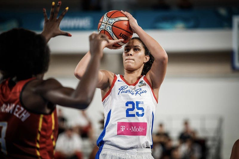 Quiñones, who led the Big Green in scoring with 14 points per game during the 2018-19 season, will compete for Puerto Rico in the Olympics this summer.