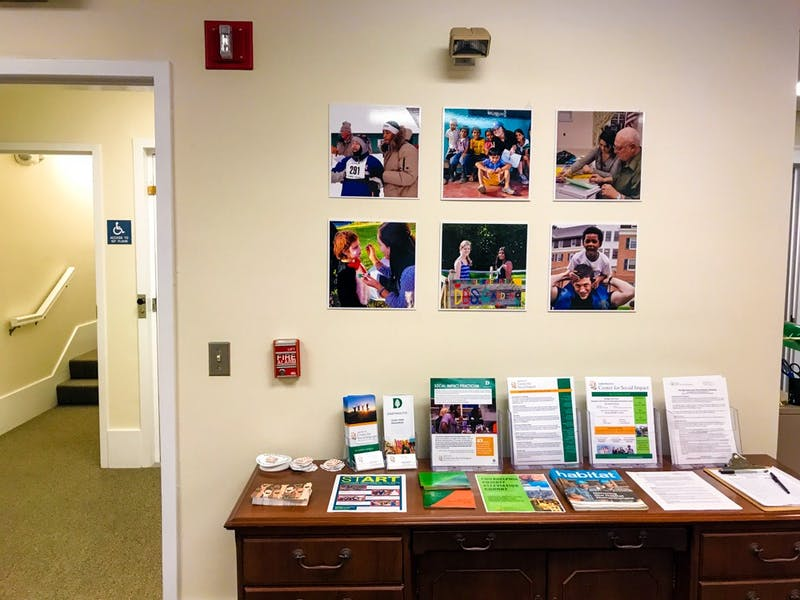 The Dartmouth Center for Social Impact is working to develop a new policy for student service groups.