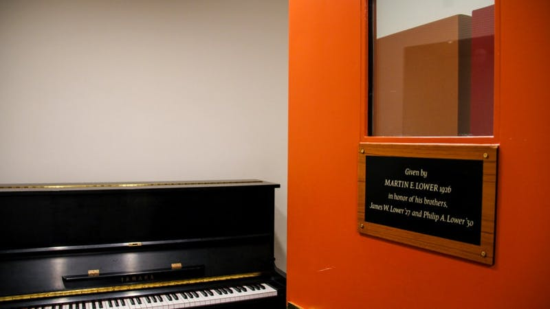 Practice rooms located in the basement of the Hopkins Center are in short supply for student musicians.