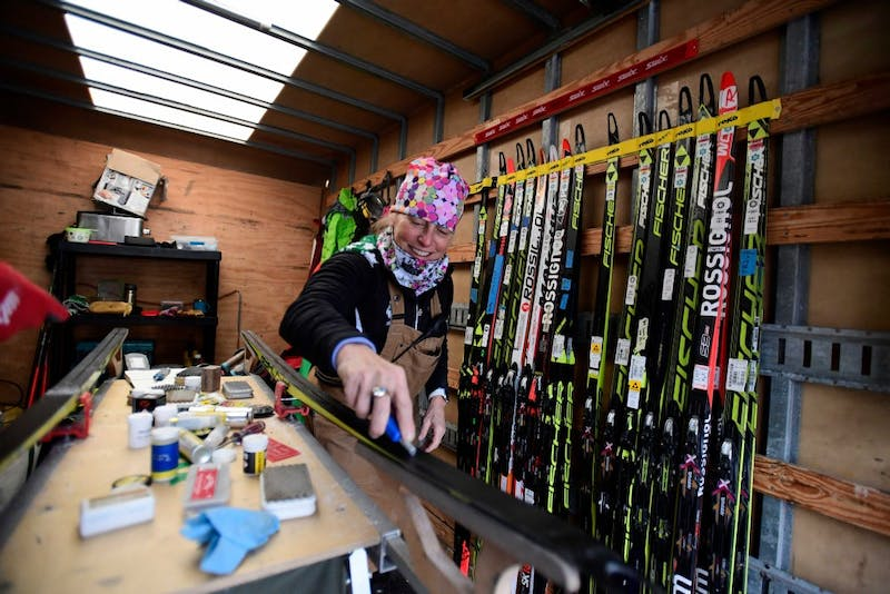Director of skiing and women's Nordic head coach Cami Thompson Graves was named United States Collegiate Ski Coaches Association Nordic Coach of the Year last season.