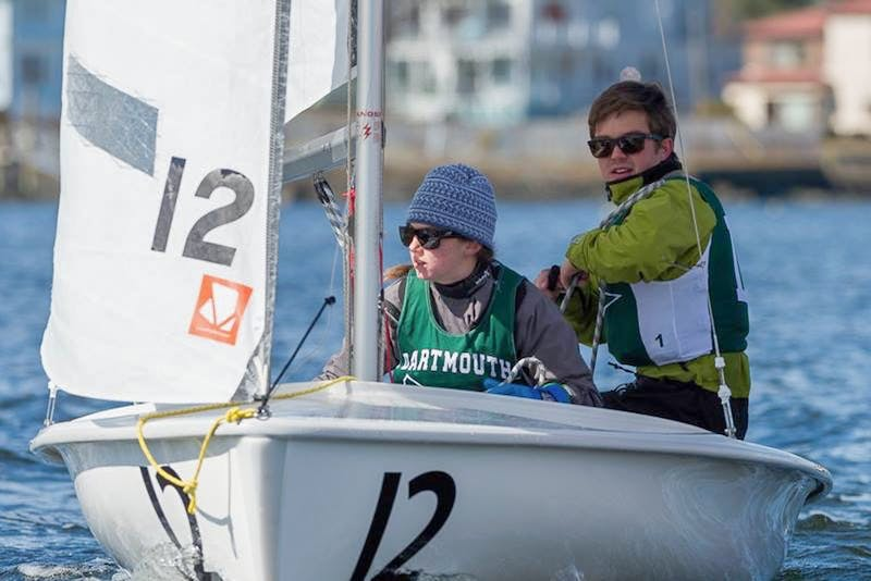 After this last weekend's races, hosted by Dartmouth, the women's, team and co-ed fleet racing teams are all headed to nationals.