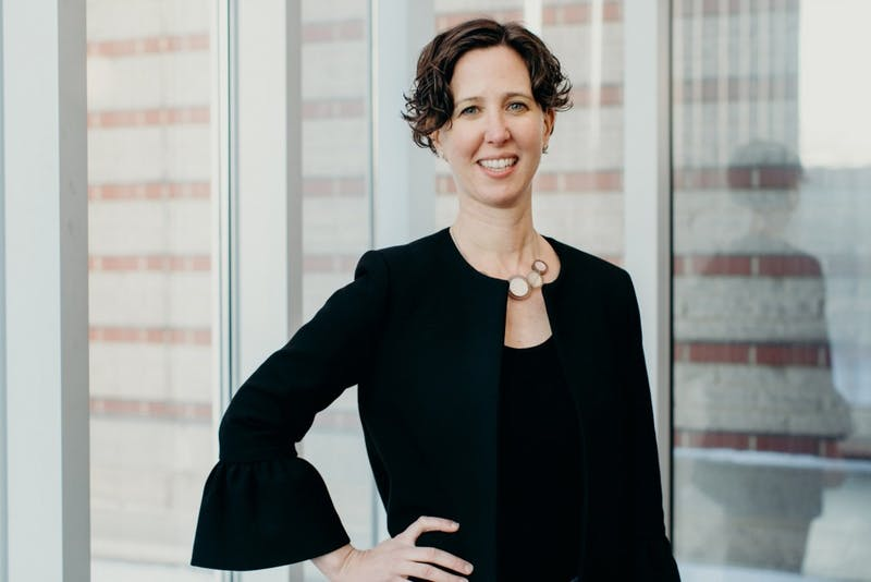 Alexis Abramson, a Case Western Reserve University professor, will be the next dean of Thayer. (Hilary Bovay/Courtesy of the Office of Communications)