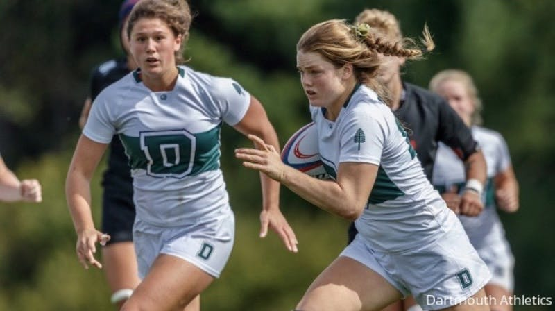 Emily Henrich '22 has recorded 20 points through the women's rugby team's first three games this fall.