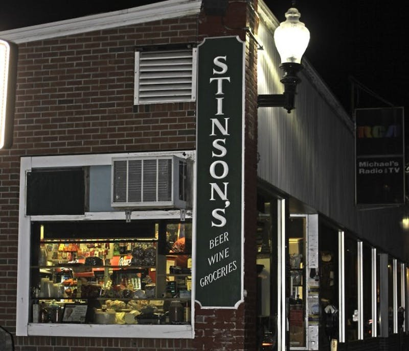 Jack Stinson is the owner of Stinson's Village Store.