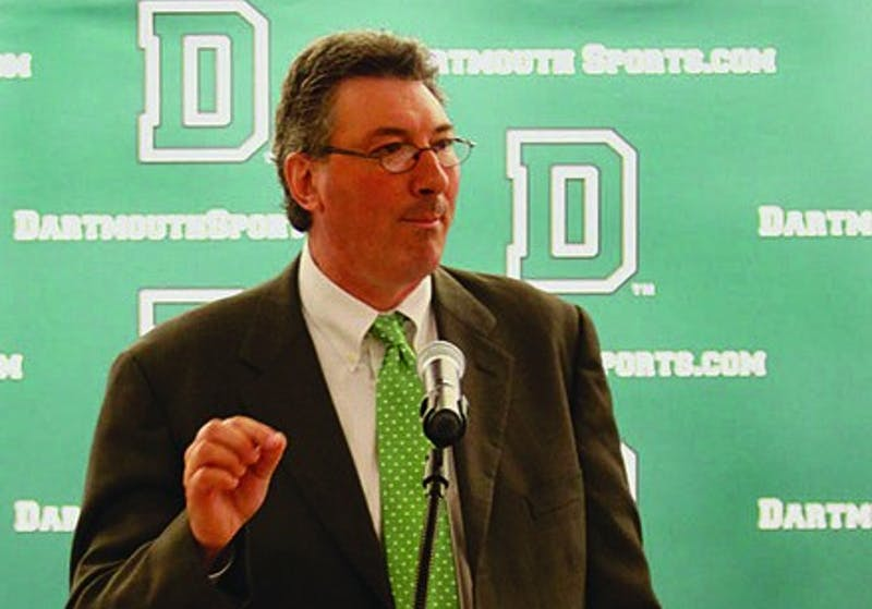 Harry Sheehy was named athletics director on Sept. 7, 2010.