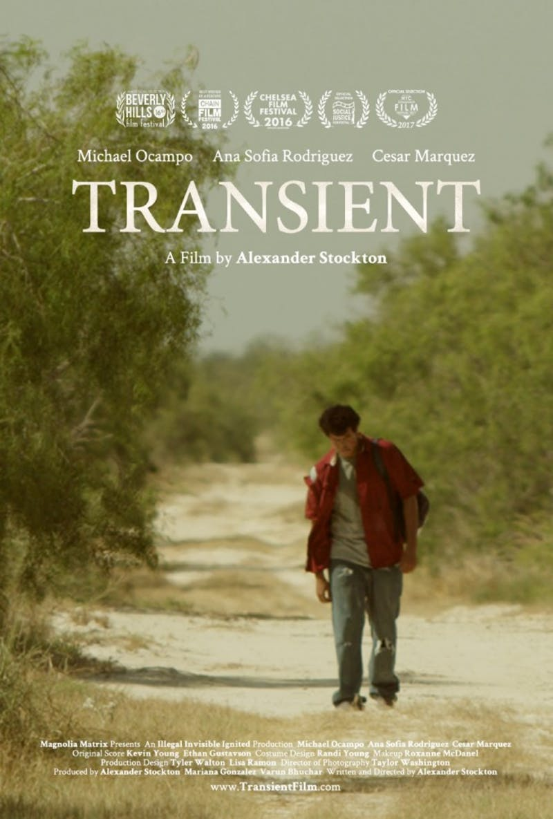 """""""Transient"""" is Alexander Stockton '15's first feature-length fiction film."""