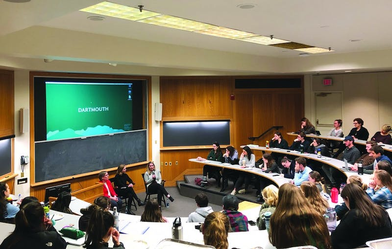 Around 70 people attended the discussion, which was hosted by Dartmouth Planned Parenthood Generation Action.