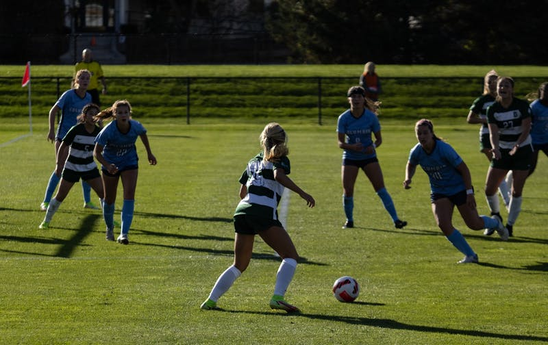 In this week's roundup: football drops its first game this season, women's rugby beats previously undefeated Harvard University and rowing teams compete at the Head of the Charles in this weekend's roundup.