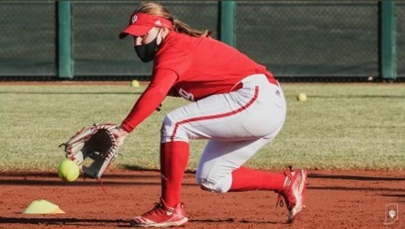 Micah Schroder '20, the 2019 Ivy League softball Player of the Year, transferred to Indiana University last June as a graduate transfer student.