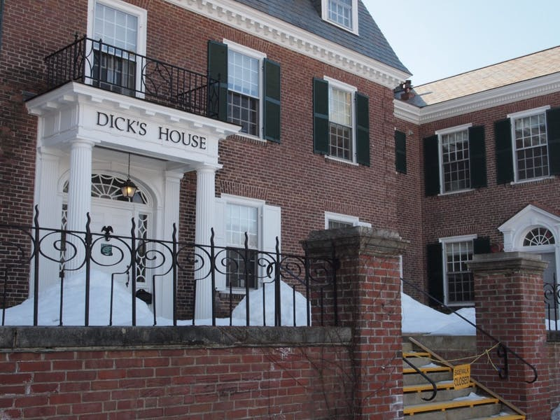 Dick's House's counseling service has nine clinical counseling staff that serve a quarter of Dartmouth students.