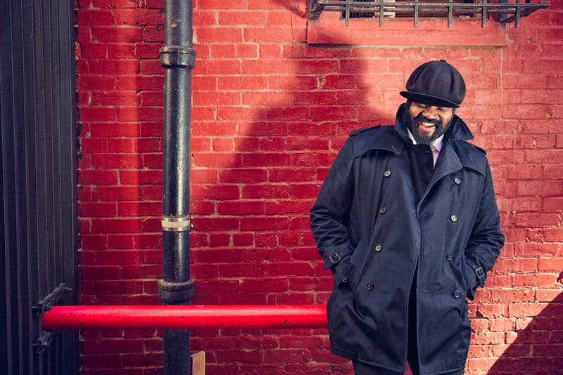 Two-time Grammy Award-winning jazz artist Gregory Porter will perform tonight.