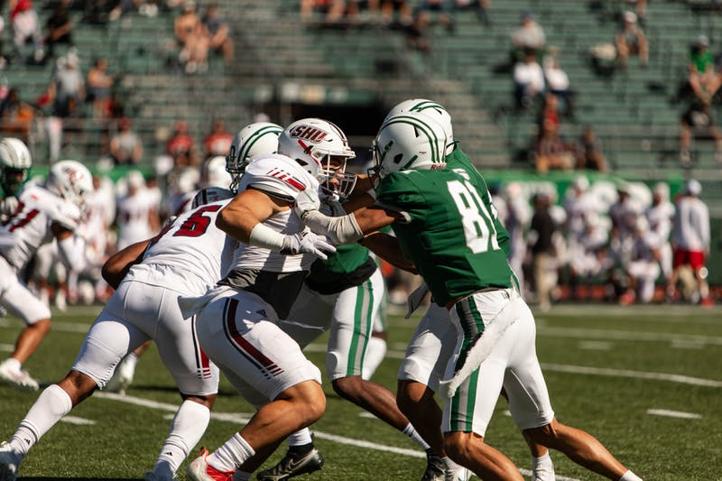 The Dartmouth football team used a stout defensive performance and running game to win its third straight game.