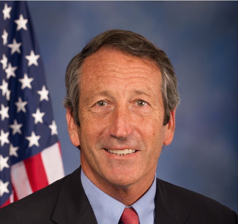 Sanford is a former governor and U.S. representative from South Carolina.
